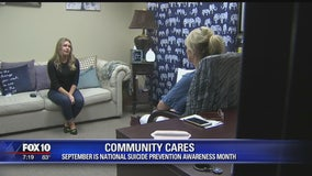 Valley woman shares story to bring awareness to suicide