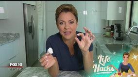 Life Hacks: Removing eggshell from cracked eggs