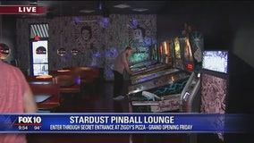 Ziggy's Pizza and Stardust Pinball Lounge in Downtown Phoenix