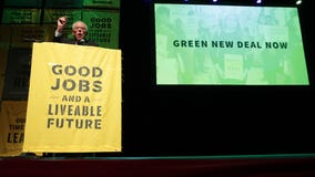 Sanders outlines climate plan that builds on Green New Deal
