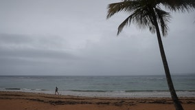 Hurricane Dorian: Get a live look from Puerto Rico's coastline as dangerous storm bears down