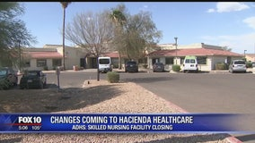 ADHS: Hacienda's Skilled Nursing Facility to close