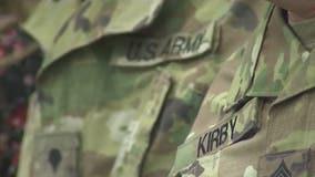 Arizona Army National Guard detachment deploying overseas