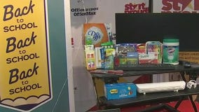 Mesa elementary school gifted truck load of supplies