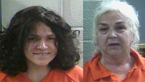 Mom and grandma arrested after police find 16-day-old on floor of car with ants crawling on head