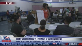 Phoenix PD, community leaders meet for dialogue following controversies