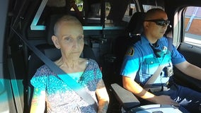 Woman diagnosed with terminal cancer gets to live dream with ride-along with St. Paul police