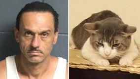 New Mexico man accused of battering girlfriend, feeding cat meth