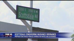 Scottsdale to consider nuisance ordinance