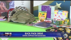 Valley credit union collecting school supplies for foster kids
