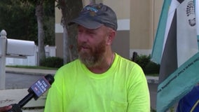 Man will end cross-country veterans' suicide awareness walk at Disney this week