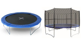 Recall: Metal legs of some Super Jumper trampolines can fail