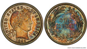 Rare 1894 dime sells for $1.32M at auction