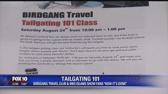 Valley businesses team up to show fans how to tailgate