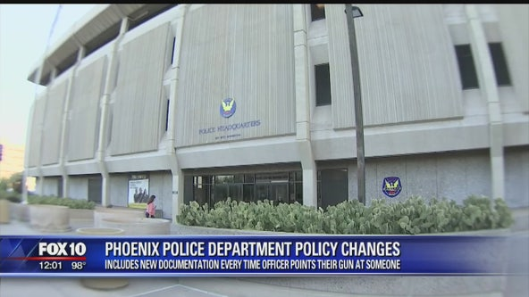 Phoenix Police announces new policy changes