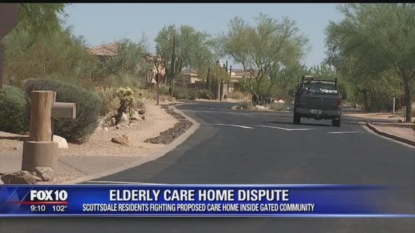 Residents in Scottsdale neighbnorhood fighting proposed care home inside gated community