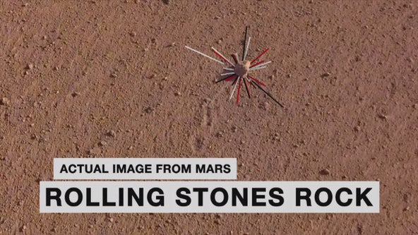 NASA honors 'Rolling Stones' band by naming a Mars rock after them