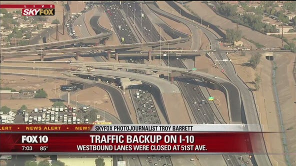 Westbound I-10 reopens after 2-hour closure