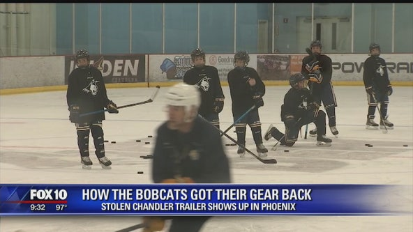 Valley youth hockey team gets their gear back after stolen trailer found