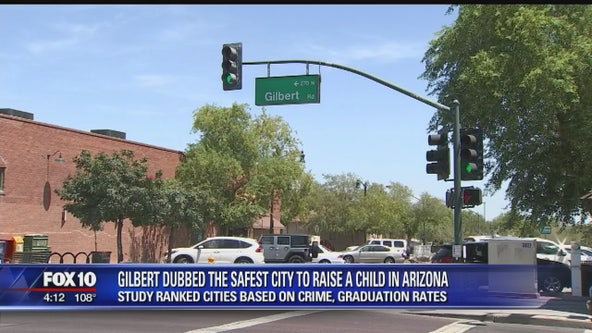 Gilbert named best city in the state to raise a child