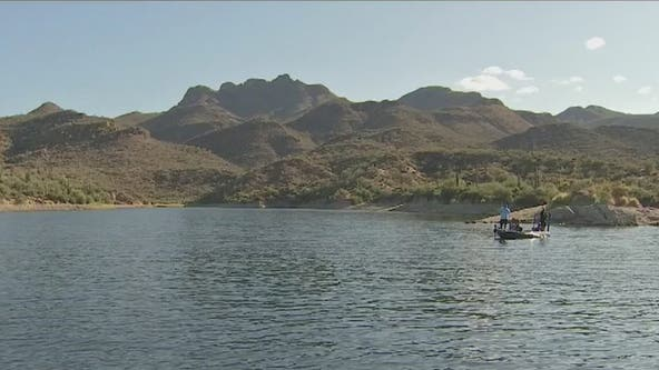 Veterans and professionals hit Lake Bartlett for fishing tournament honoring fallen Valley veteran
