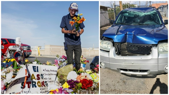 Man who lost wife in El Paso shooting has car stolen