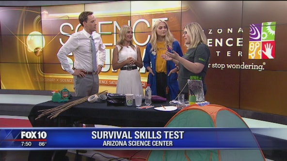 Science Saturday: Camping survival skills