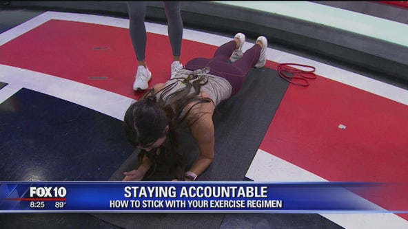 Sticking with your exercise regimen