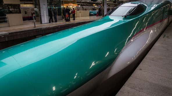 Japanese bullet train door flew open while traveling at 174 mph