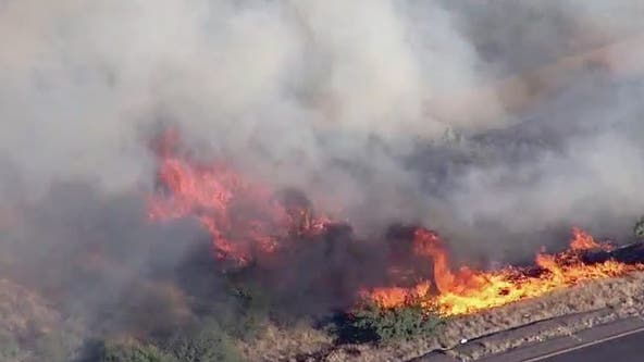 I-17 reopens after brush fire burns 200 acres