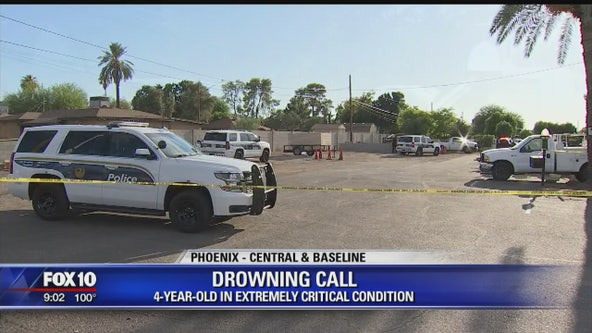 PD: 4-year-old in critical condition after near-drowning