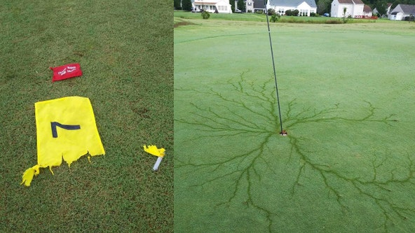 North Carolina golf club congratulates God — and lightning bolt — for 'almighty hole in 1'