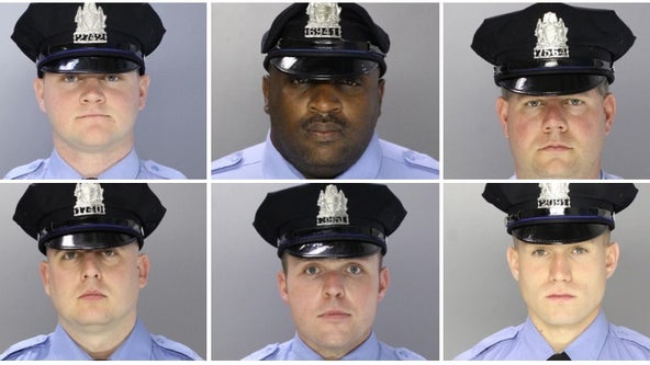 Philadelphia police release photos of 6 officers shot during standoff