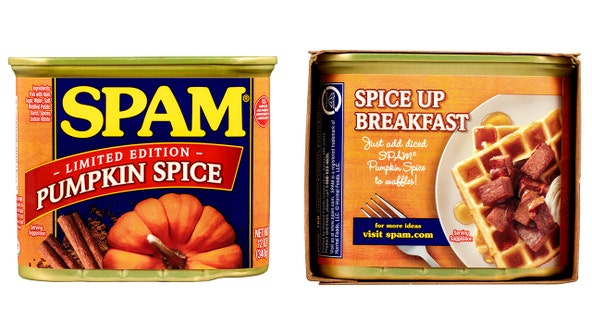 Can't get enough pumpkin spice? Grab a can of Pumpkin Spice Spam
