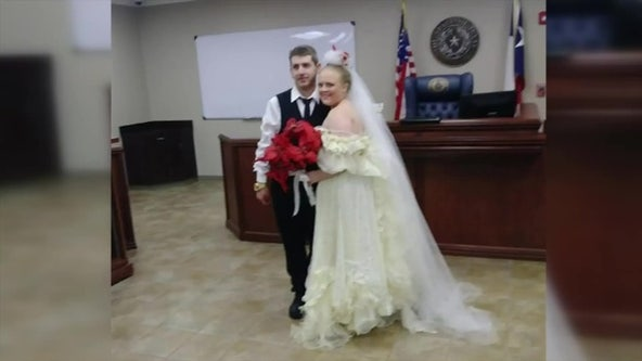 Texas newlyweds killed in car crash moments after tying the knot