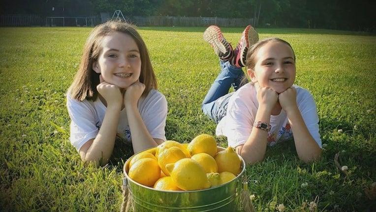 Sisters sell lemonade to pay school lunch debts   FOX 10 Phoenix