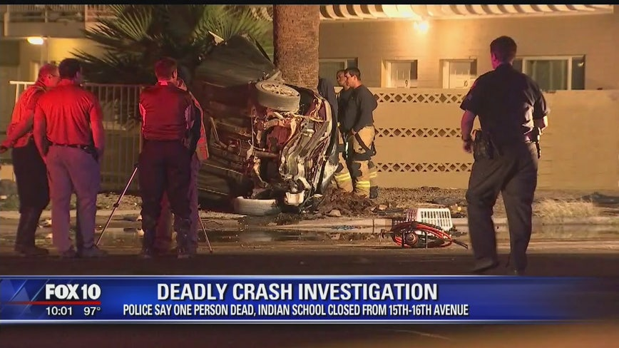 PD investigating fatal collision in Phoenix