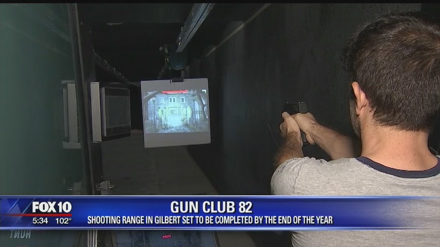 Premium indoor gun club to open this fall in Gilbert