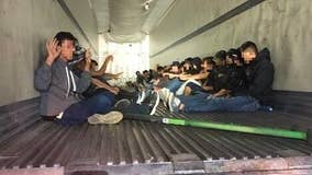 Arizona driver arrested after 31 immigrants found in big rig
