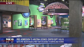 Thrifty Thursday: Free weekend at Arizona Science Center