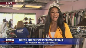 Thrifty Thursday: Dress for Success summer sale