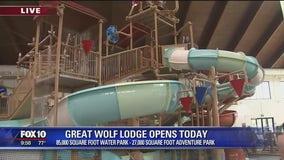 Cory's Corner: Great Wolf Lodge indoor water park now open in Arizona