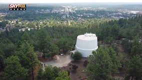 Drone Zone: Taking a look at Flagstaff's Lowell Observatory