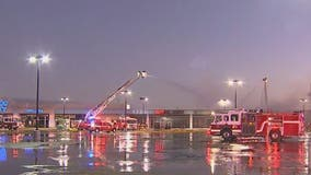 Phoenix firefighters battle 3-alarm fire at strip mall