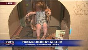Box Mania at Phoenix Children's Museum