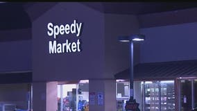 Mesa Police search for suspects in connection to armed robbery of Speedy Market