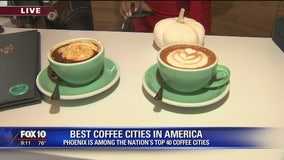 Multiple Valley cities among best coffee cities in America