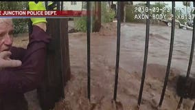 Officer rescues man swept away during flash flood in Apache Junction