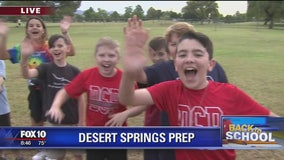 Cory's Corner: Back to school at Desert Springs Preparatory Elementary School
