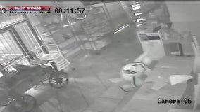 Surveillance video showing arson incident at Phoenix restaurant released